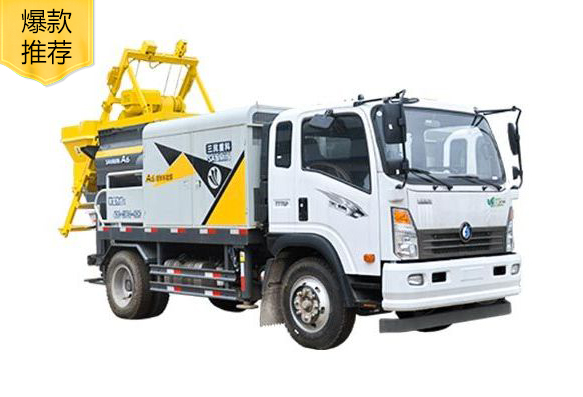 强制式亚博yabo体育下载混凝土泵车