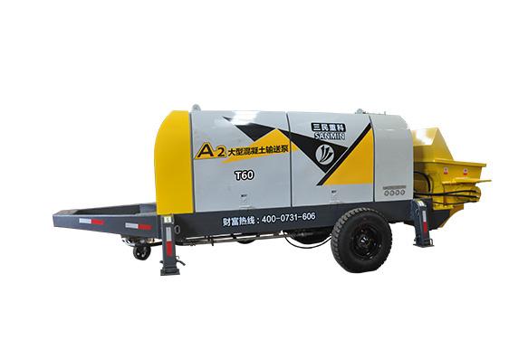微型混凝土泵车