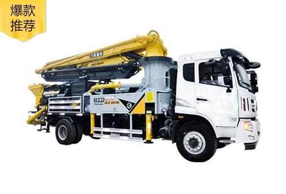 混凝土泵车是怎样泵送混凝土的?