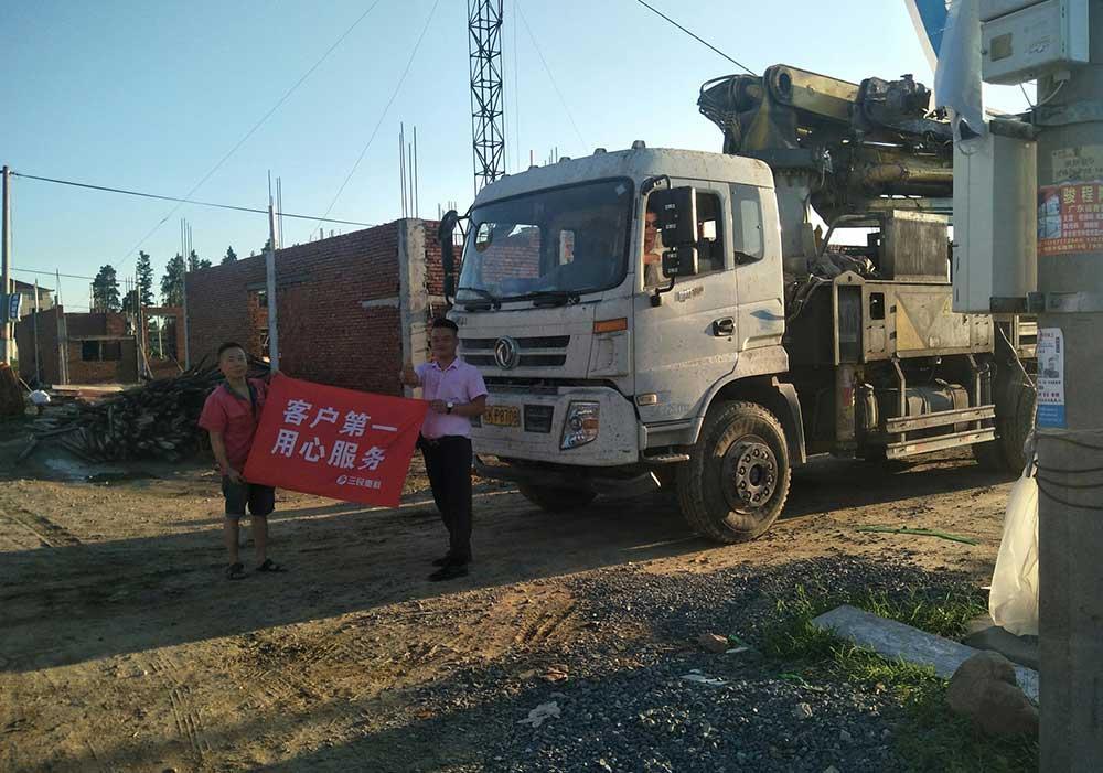 38米混凝土泵车